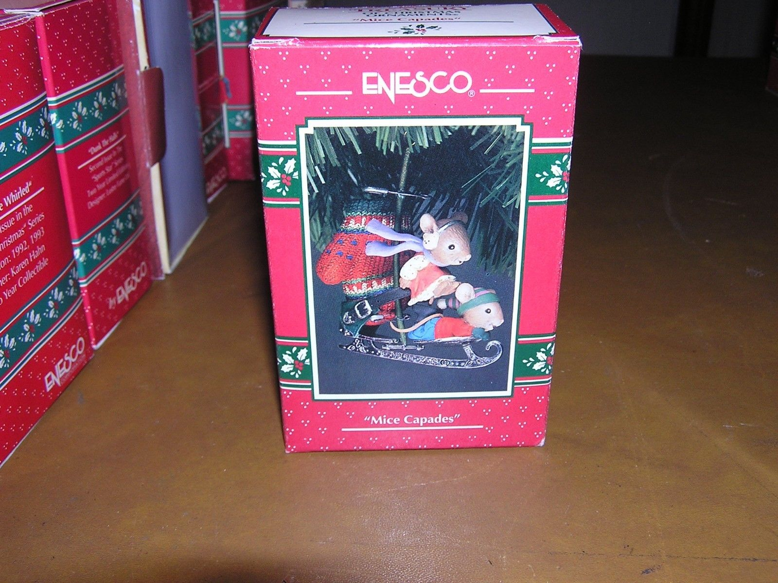 Enesco Treasury Of Christmas Ornaments