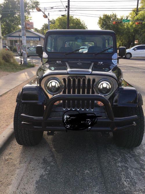 small resolution of 1986 jeep cj laredo 1986 cj7 laredo full off the frame refurbishment auto a c 10 300 miles