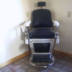 1800 Koken Barber Chair Orthopedic Cushion Furniture -- Antique Price Guide