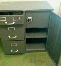 Steelmaster File Cabinet With Safe  Cabinets Matttroy