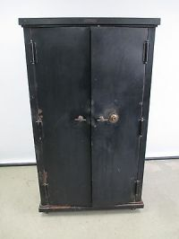 "ANTIQUE SAFE 1905-10 ""THE DICK"" SAFE SAFE CABINET CO ..."