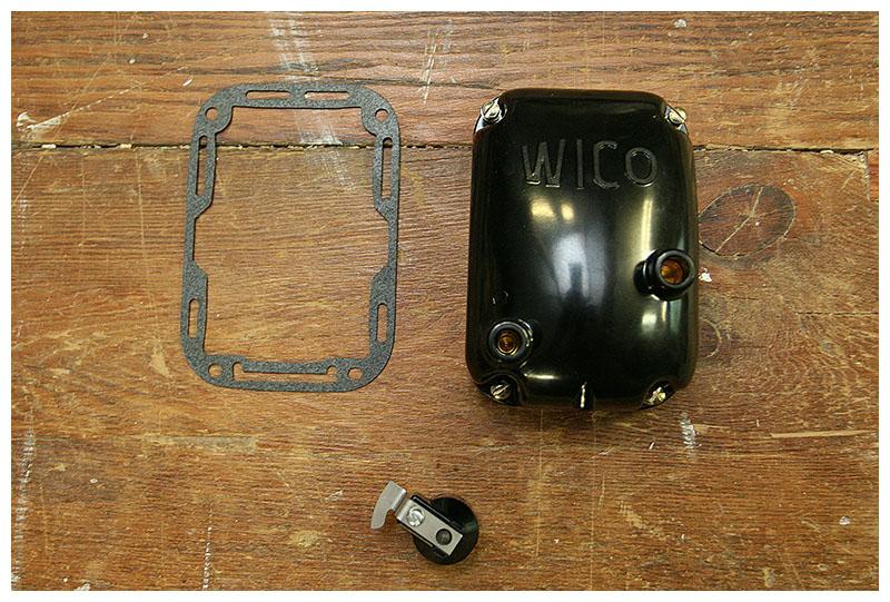Antique Speed  Machine  Wico Magnetos for Harley