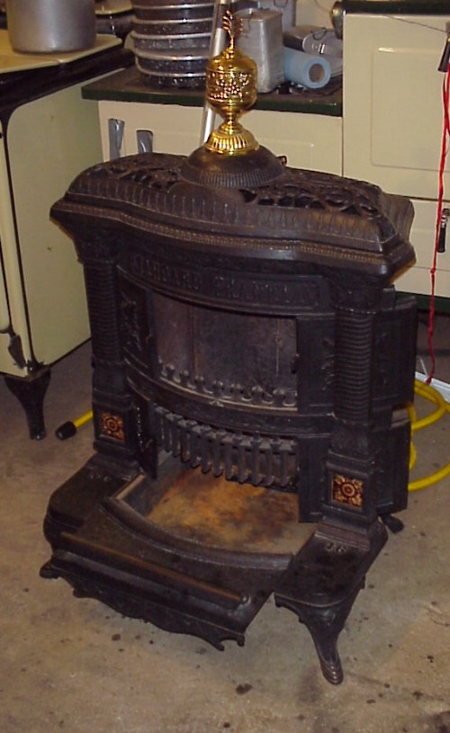 Stoves Unrestored Cookstoves Wood stoves Gas stoves