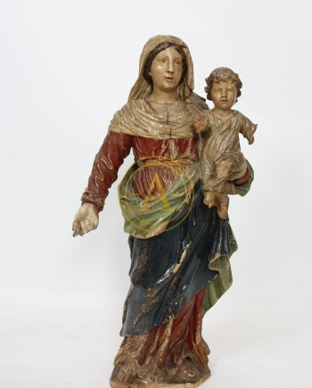 VIERGE A L'ENFANT XVIIIème