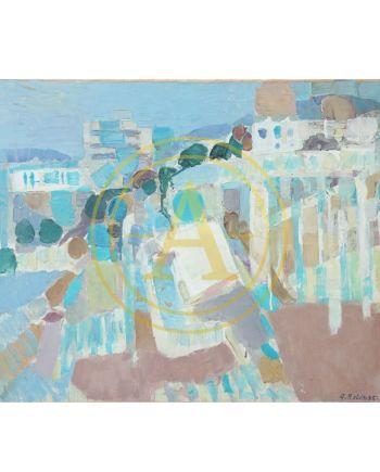 """Antibes"" de G. BOLIN (1920-1999)"