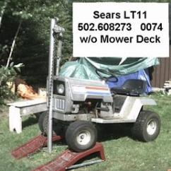 Sears Lawn Tractor Parts Diagram Ac Motor Wiring Antique Tractors - Lt11 11 Hp Picture