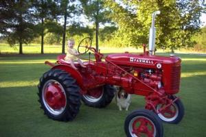 1950 Farmall IH Super A Tractor Antique Tractor