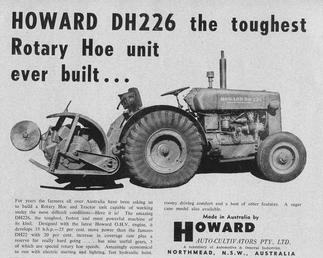 1958 Howard DH226 Antique Tractor