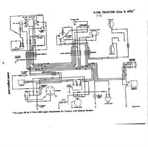 IHS3543 Farmall 706 & 806 Gas Restoration Quality Wiring