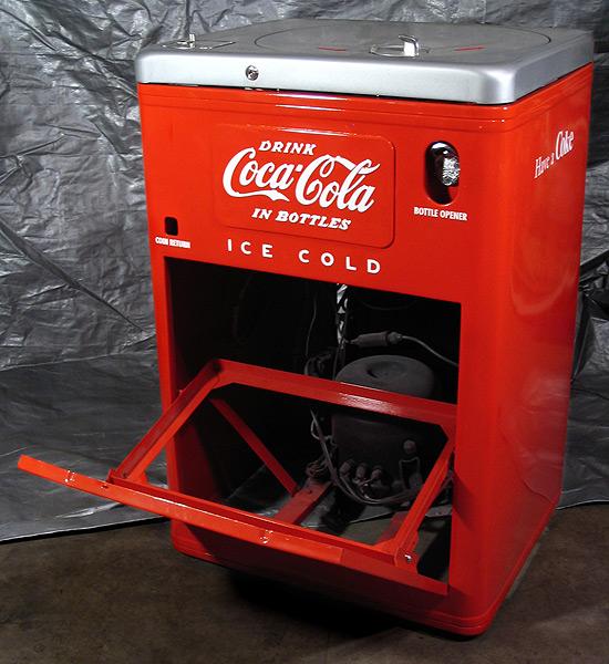 Coca Cola Vendo 23 Spintop Antique Refinishing Services