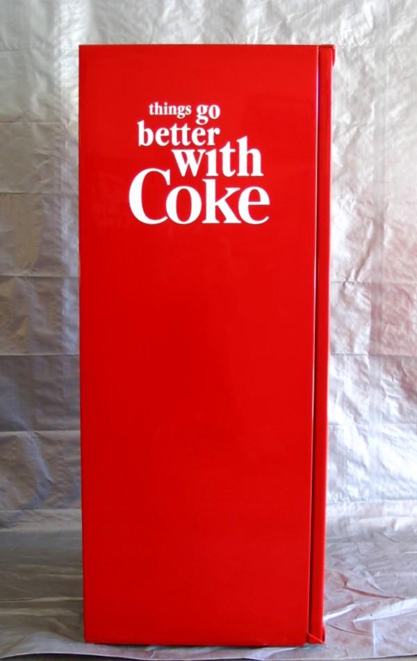Stock Coca Cola Vendo 63 Antique Refinishing Services