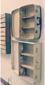 suitcase, shelf, repurpose suitcase