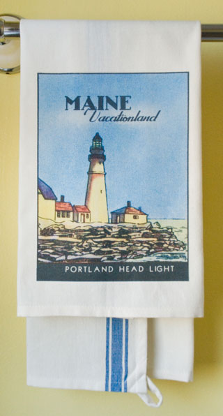 Maine State Towel