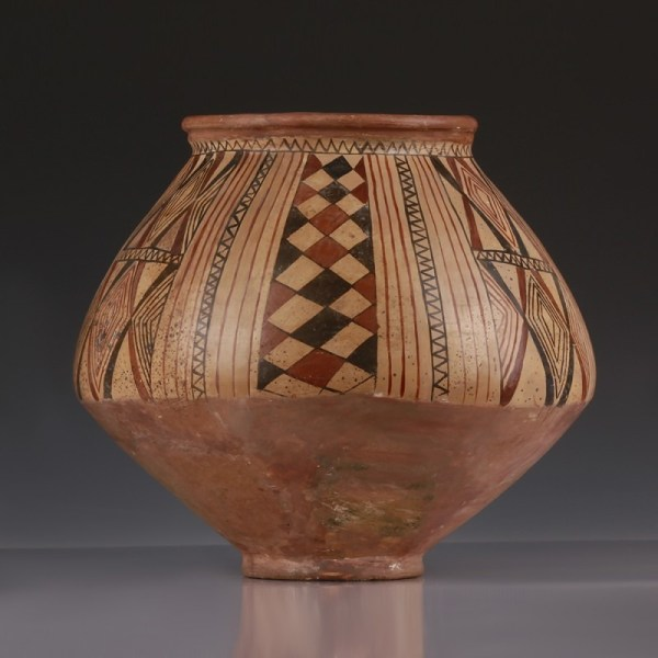 Pre-Urartian Pottery Painted Vessel