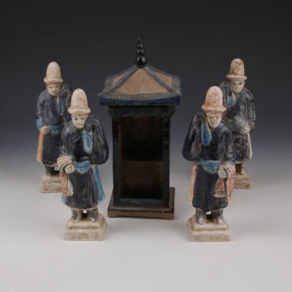 Processional Set of Ming Attendants