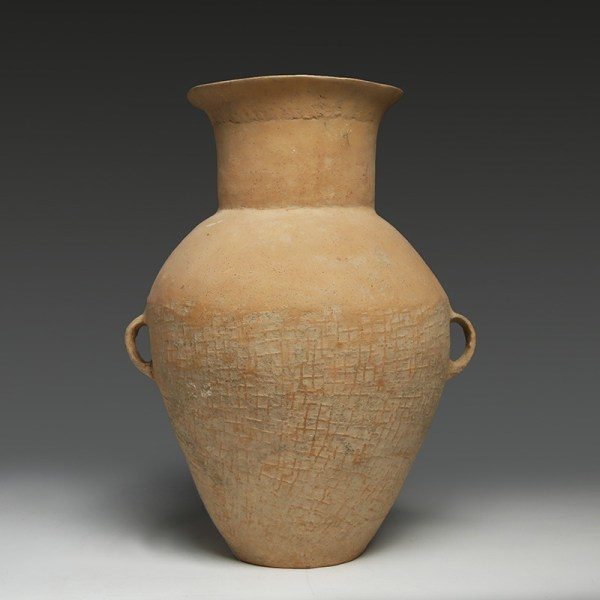 Rare Large Chinese Neolithic Qijia Storage Jar