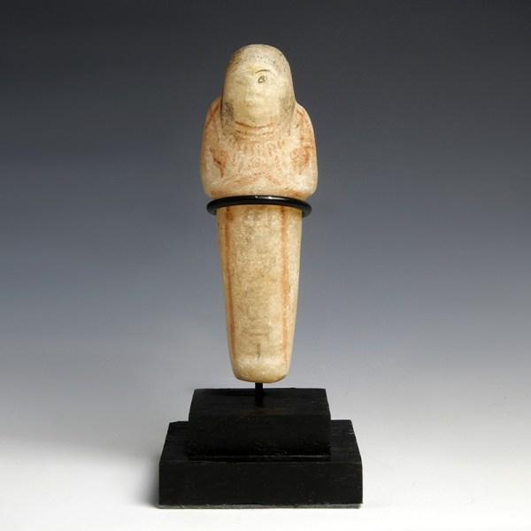 Egyptian Alabaster Shabti