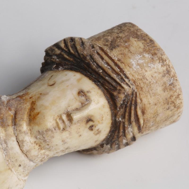Roman Carved Bone Doll Ancient Roman Antiquities Ancient Oriental