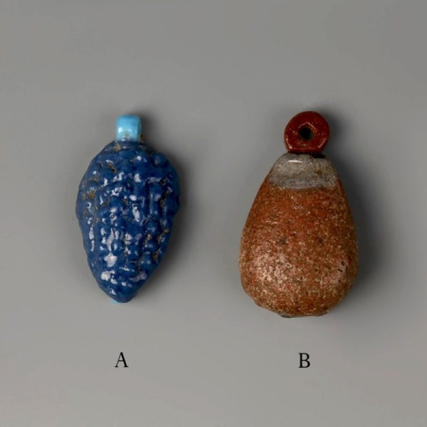 Ancient Egyptian Fruit And Flower Amulets