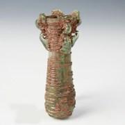 Roman Double Balsamarium with Quadruple Handles
