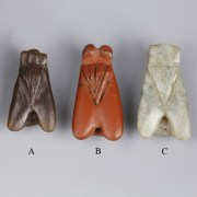 Selection of Egyptian Stone Fly Amulets
