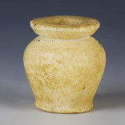 New Kingdom Alabaster Kohl Jar