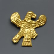 Scythian Gold Zoomorphic Appliqué