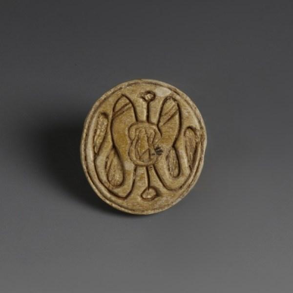 Egyptian Round Scaraboid