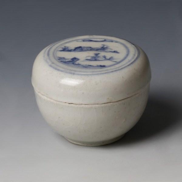 Hoi An Blue And White Landscape Box