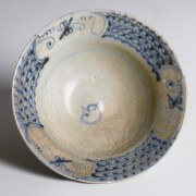 Tek Sing Blue and White Circular Bowl