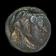Bronze Plaque With Europa