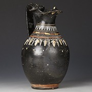 ancient greek pottery oinochoe