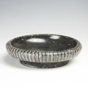 Greek South Italian Blackware Decorated Dish