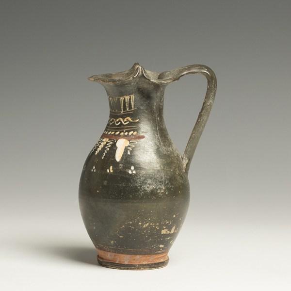 Greek Italian Pottery Oinochoe