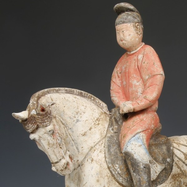 A Tang Dynasty Equestrian Rider