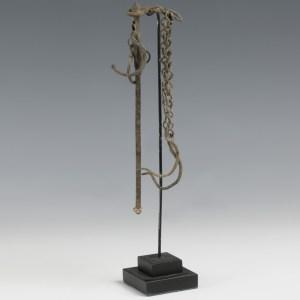 roman bronze steelyard balance