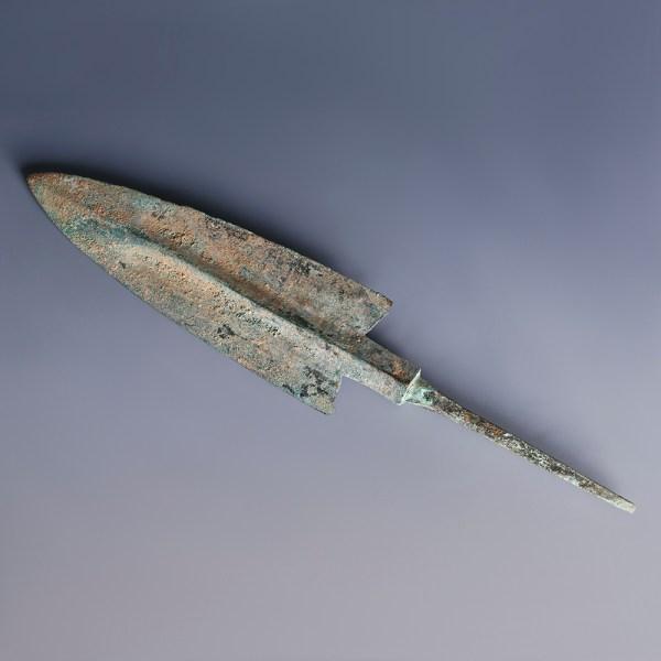 Luristan Bronze Tanged Arrowhead