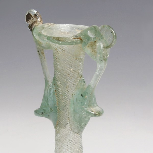 Translucent Roman Glass with Handles