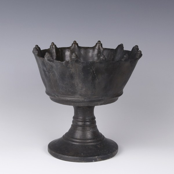 Etruscan Bucchero Ware Chalice