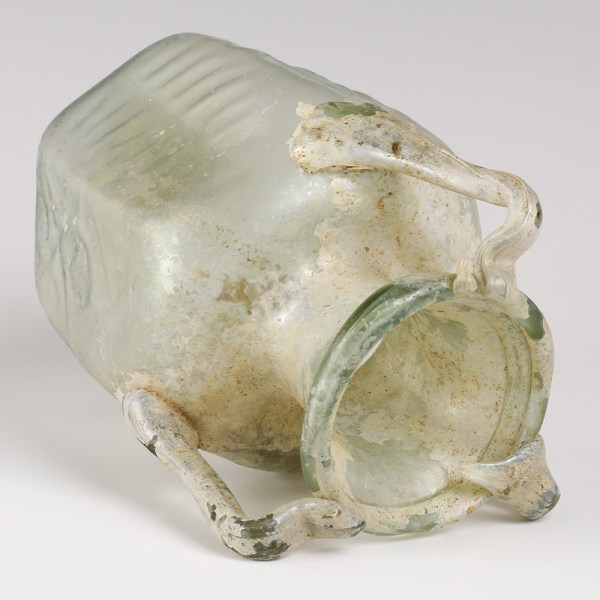 Byzantine Three-Handled Glass Jug