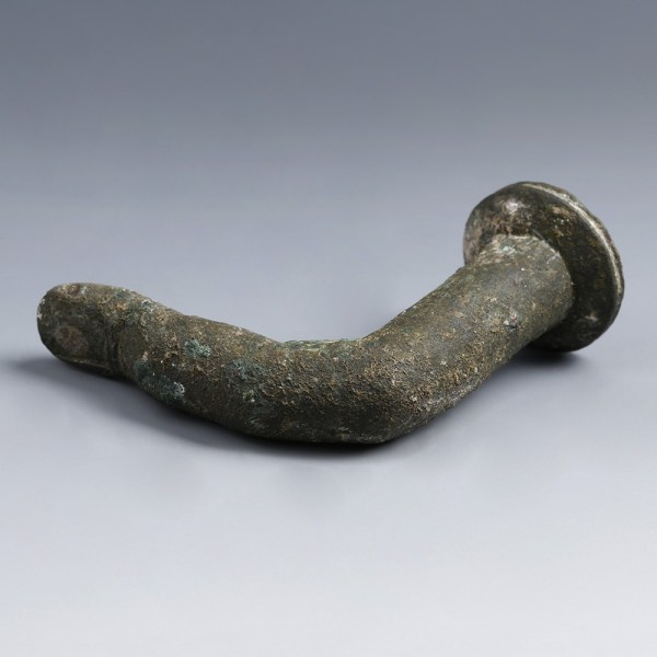 Roman Bronze Thumb-Form Pestle