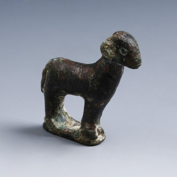 Roman Bronze Figurine of a Ram