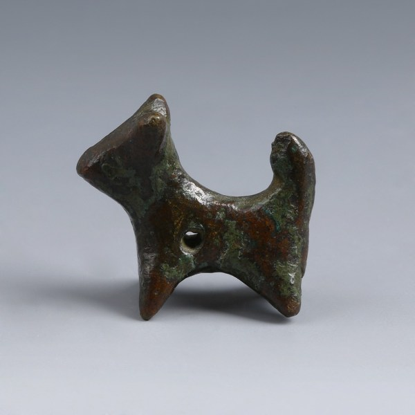 Luristan Bronze Dog Figurine