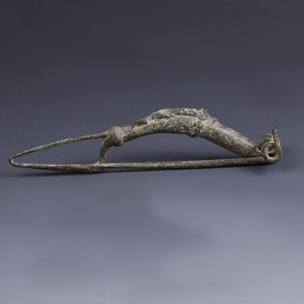 Roman Bronze Fibula