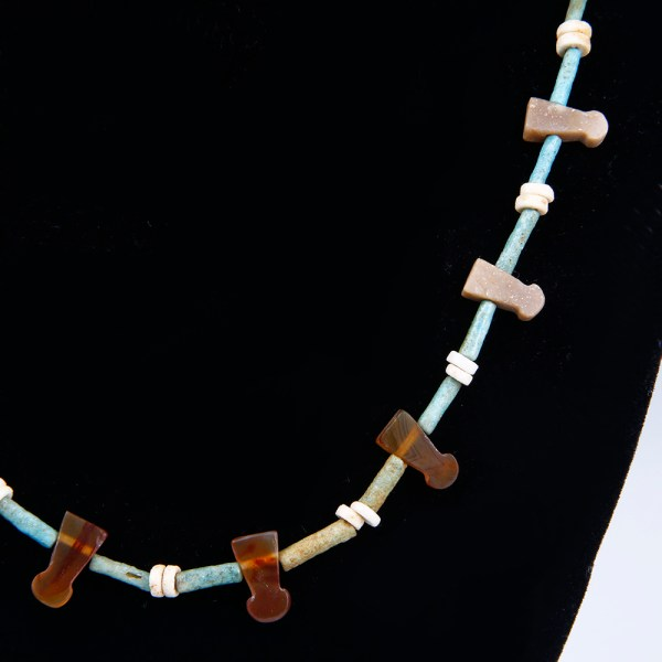 Egyptian Necklace with Menit Amulets