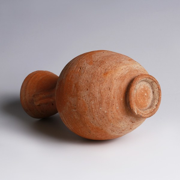 Nabataean Red Terracotta Flask