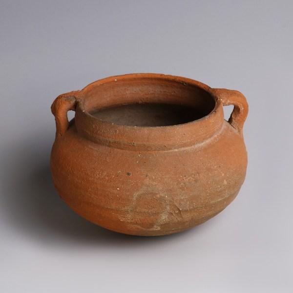 Nabataean Terracotta Globular Cup