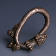 Western Asiatic Silver Hair Ring