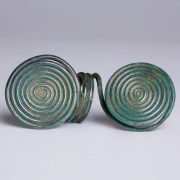 Celtic Bronze Age Spiral Ring