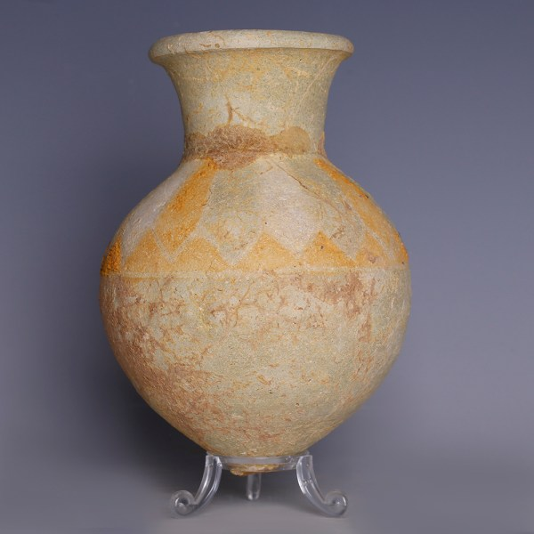 Amlash Beige Pottery Jar